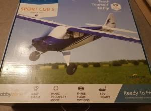 Avion Hobbyzone Sport Cub S RTF mode1 0.61m neuf