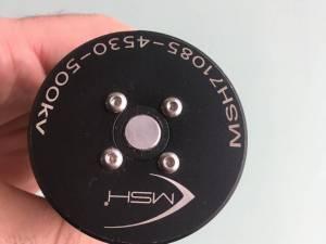 MSH 4530 500 kv axe en 8mm, 180 €
