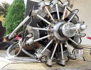 Moteur radial 7 cylindres Airen 150 cc