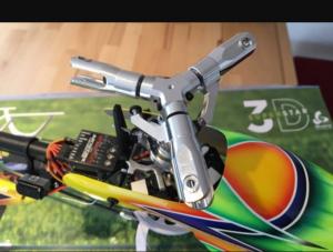 Tête Rotor Tri-pâles Flybarless Blade 360 CFX/450