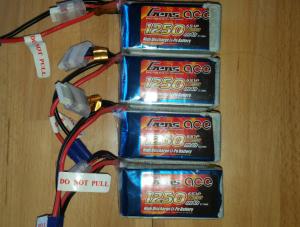 Lipos 6s Gens Ace 1250 mAh 60C NEUVES AFFAIRES