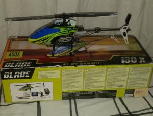 Hélico Rc Blade 130x Excellent État AFFAIRE