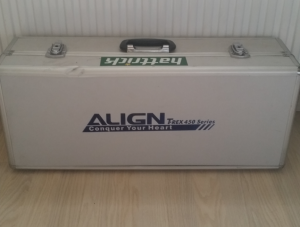 Malette Aluminium Helico Rc Align 450 Bon État