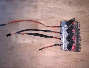 MKS HBL 950 + 980  set de 4 - helico 600-700