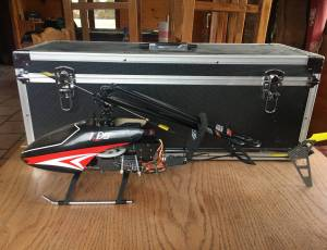 Helico RC KDS 450 + valise
